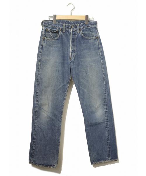 LEVIS(リーバイス)LEVIS (リーバイス) [古着]ヴィンテージ デニム パンツ インディゴ サイズ:表記無し 501XX・ボタン裏無地の古着・服飾アイテム