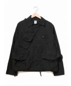 south2 west8(サウスツーウエストエイト)の古着「TENKARA SHIRT/テンカラシャツ」|ブラック