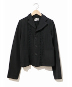 ROBE DE CHAMBRE COMME DES GARCONS(ローブドシャンブルコムデギャルソン)の古着「90'sウールジャケット」|ブラック