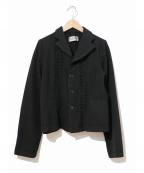ROBE DE CHAMBRE COMME DES GARCONS(ローブドシャンブル コムデギャルソン)の古着「[OLD]90'sウールジャケット」|ブラック