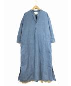 ARGUE(アギュー)の古着「デニムワンピース」|インディゴ