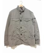 PEUTEREY(ビューテリー)の古着「ナイロンジャケット」|グレー