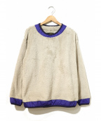 Comfy Outdoor Garment(コンフィーアウトドアガーメンツ)の古着「PRECOLD FLEECE TEE」|ベージュ