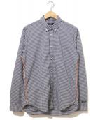 narifuri(ナリフリ)の古着「ギンガムチェックシャツ」|ブルー