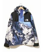 SUPREME×THE NORTH FACE(シュプリーム×ザ・ノースフェイス)の古着「Mountain Jacket」|ブルー