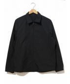 ITTY BITTY(イッティービッティ)の古着「ナイロンスイングトップ」|ブラック