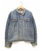 Wrangler(ラングラー)の古着「[古着]ヴィンテージデニムジャケット」|インディゴ