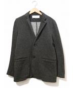 CURLY(カーリー)の古着「ネップ2Bトラックジャケット」|グレー