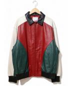 Supreme(シュプリーム)の古着「アーチロゴスタッズレザージャケット」