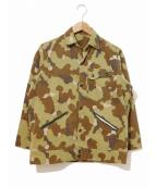 VINTAGE(ヴィンテージ/ビンテージ)の古着「ミッチェルパターンカモジャケット」|ブラウン