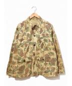 VINTAGE(ヴィンテージ/ビンテージ)の古着「ダックハンターカモジャケット」|ベージュ