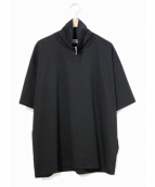 LITTLEBIG(リトルビッグ)の古着「ジップポロシャツ」|ブラック