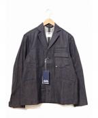 ATELIER&REPAIRS(アトリエ&リペアーズ)の古着「ワークテーラードジャケット」|ネイビー