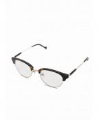 VIKTOR&ROLF(ヴィクター&ロルフ)の古着「眼鏡」 ブラウン