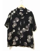 OLD JOE & Co.(オールドジョーアンドコー)の古着「オープンカラーシャツ」|ブラック