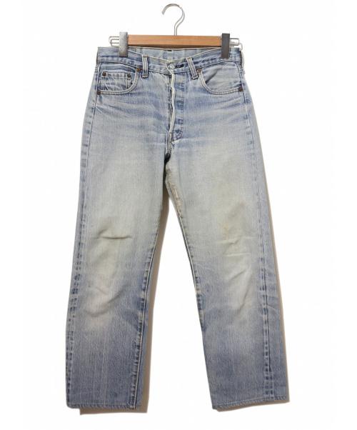 LEVIS(リーバイス)LEVIS (リーバイス) [古着]ヴィンテージ デニム パンツ インディゴ サイズ:W29表記 80's・赤耳・ボタン裏524の古着・服飾アイテム
