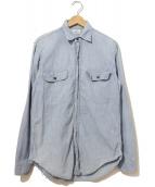 Sears(シアーズ)の古着「ヴィンテージシャンブレーシャツ」|ブルー