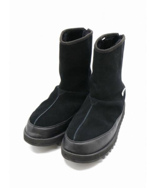 suicoke(スイコック)suicoke (スイコック) 別注センターシームブーツ ブラック サイズ:28cm SOUTH2 WEST8別注・SHERPA BOOT W/A-B VIBRAM-CENTER SEAの古着・服飾アイテム