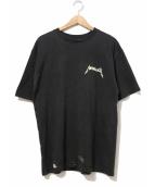 METALLICA(メタリカ)の古着「90'sバンドTシャツ」|ブラック