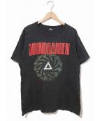 SOUNDGARDEN(サウンドガーデン)の古着「90'sバンドTシャツ」|ブラック