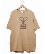 ラップTシャツ(ラップTシャツ)の古着「[古着]90's ISAAC HAYES Tシャツ」|ベージュ