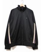 stussy(ステューシー)の古着「サイドライントラックジャケット」|ブラック
