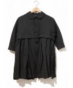 COMME des GARCONS(コムデギャルソン)の古着「変形プリーツジャケット」|ブラック