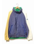 NAUTICA(ノーティカ)の古着「[古着]90sリバーシブルナイロンセーリングジャケット」|ネイビー