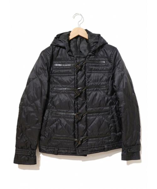 NEIL BARRETT(ニールバレット)NEIL BARRETT (ニールバレット) ダウンダッフルジャケット ブラック サイズ:1表記(Sサイズ相当)の古着・服飾アイテム