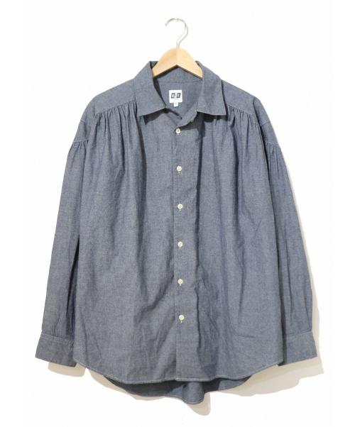 AiE(エーアイイー)AiE (エーアイイー) ペインターシャツ インディゴ サイズ:S 19AW-20SS PAINTER SHIRT - 4.5OZ COTTON CHAMBRAYの古着・服飾アイテム