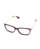 GUCCI(グッチ)の古着「眼鏡」|エンジ