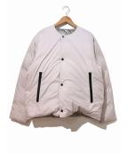 URU(ウル)の古着「ダウンジャケット」|ライトグレー