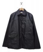 LEONARD SPORT(レオナールスポーツ)の古着「裏キルティングジャケット」 ブラック