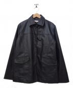 LEONARD SPORT(レオナールスポーツ)の古着「裏キルティングジャケット」|ブラック