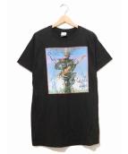 STEVE VAI(スティーヴ・ヴァイ)の古着「[古着]90'sアーティストTEE」|ブラック