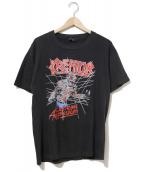 ()の古着「[古着]80's Kreator バンドTシャツ」|ブラック