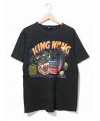KING KONG(キングコング)の古着「[古着]80s映画Tシャツ」|ブラック