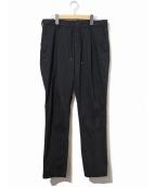 junhashimoto(ジュンハシモト)の古着「ナイロンイージーパンツ」|ブラック