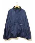 Patagonia(パタゴニア)の古着「90'sグリセードプルオーバージャケット」|ネイビー×グリーン