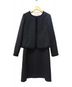 Mila Schon(ミラショーン)の古着「ワンピースセットアップ」|ブラック