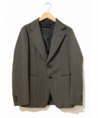 ()の古着「[OLD]肩スタッズベルト2Bジャケット」|グレー
