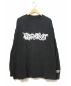 ラップTシャツ(ラップTシャツ)の古着「[古着]90's FUNK DOO BIEST ロンTEE」 ブラック