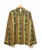 south2 west8(サウスツーウエストエイト)の古着「Smokey Shirt/スモーキーシャツ」|カーキ