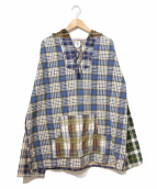 south2 west8(サウスツーウエストエイト)の古着「別注メキシカンパーカー/Mexican Parka」|ネイビー