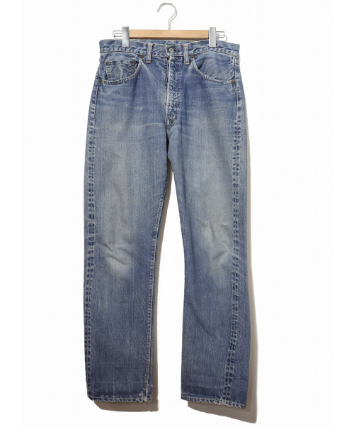 LEVIS(リーバイス)LEVIS (リーバイス) [古着]ヴィンテージ デニム パンツ インディゴ サイズ:表記なし 501XX・ボタン裏4・センターループ・ギャラ無の古着・服飾アイテム