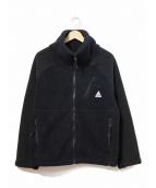 CAPE HEIGHTS(ケープハイツ)の古着「フリースジャケット」|ブラック