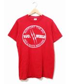 SS Enterprises(SS エンタープライズ)の古着「[古着]Tシャツ」|レッド