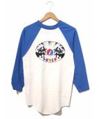 バンドTシャツ(バンドTシャツ)の古着「[古着]90's GRAITEFUL DEAD バンドTシャ」|ホワイト×ブルー