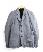 ATTACHMENT(アタッチメント)の古着「スリムテーラードジャケット」|グレー
