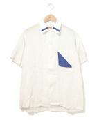 ()の古着「[古着]ヴィンテージレーヨンS/Sシャツ」|ホワイト